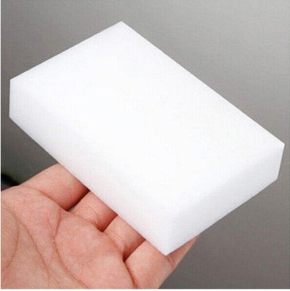 30 sztuk/partia biały magiczna gąbka Eraser melamina Cleaner, wielofunkcyjny czyszczenie 100x60x20mm gąbka