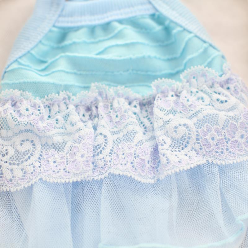 Vajzat e ëmbël të Princeshave me Lace Princesha Veshje për Qentë - Produkte për kafshet shtëpiake - Foto 5