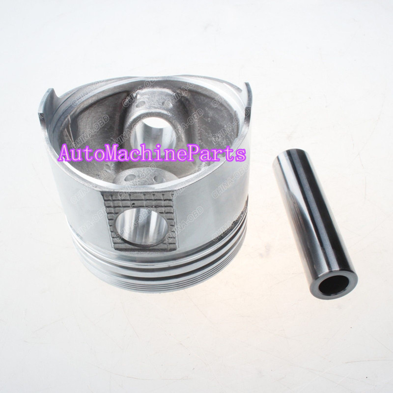 1 Piece STD Piston & Piston Pin 30L17-10010 30L17-10013 for Mitsubishi L3E changchai 4l68 engine parts the set of piston piston rings piston pins