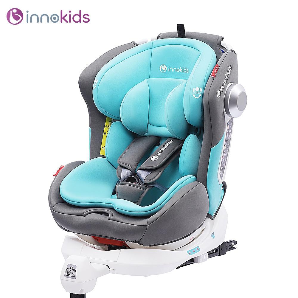 Asiento de seguridad giratorio de 360 grados innokids asiento de seguridad para niños de 0 a 12 años de edad asiento de seguridad para coche de bebé