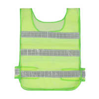 ZK30 Drop Ship Waistcoat Reflective Clothes Vest Ultimate Running Race High Visibility Reflective Fluorescent Safety Clothing