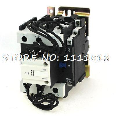цена на CJ19-80 380V 50/60Hz Coil Voltage 3Phase 2NO 1NC Changeover Capacitor Contactor