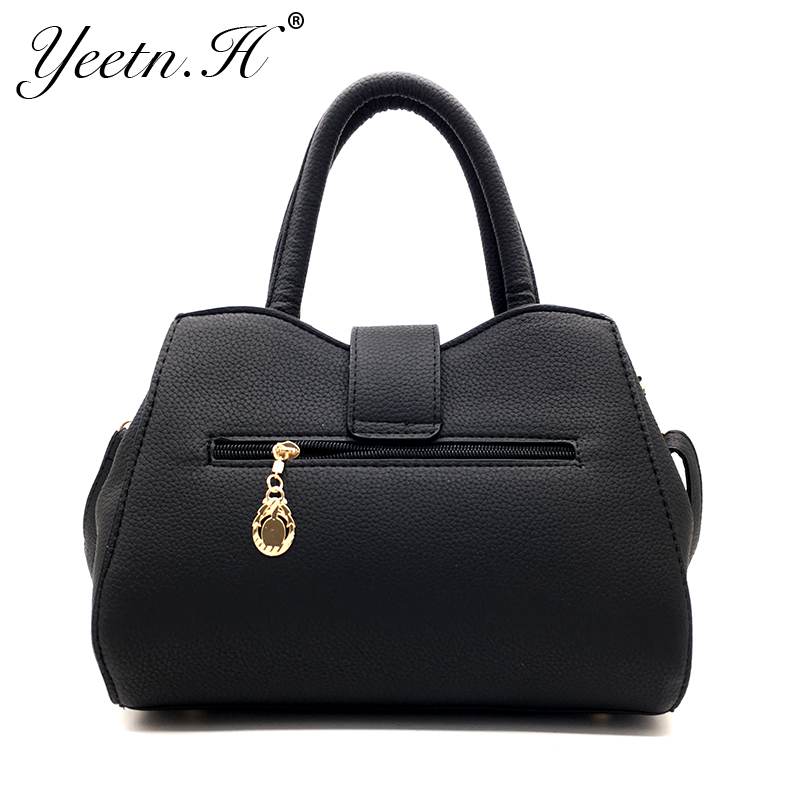 Yeetn.H New Arrival Woman Bag Fashion Handbag Shoulder Bag Classic PU - Beg tangan - Foto 4