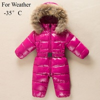 Promotion 2014 Baby Rompers Newborn Clothes Brand Winter Romper Baby Clothing Snowsuit Thicken Down Rompers Outerwear