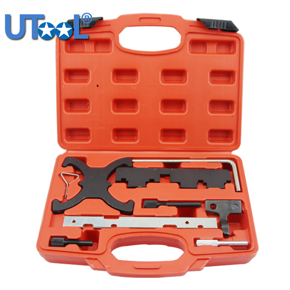 New Engine Camshaft Timing Locking Tool Set Kit For Ford Focus 1.6 Mazada 1.6 Eco Boost engine setting locking combination kit master engine timing tool set fits for ford 1 4 1 6 ti vct tdci 1 8 2 0 16v 2 2 tdci