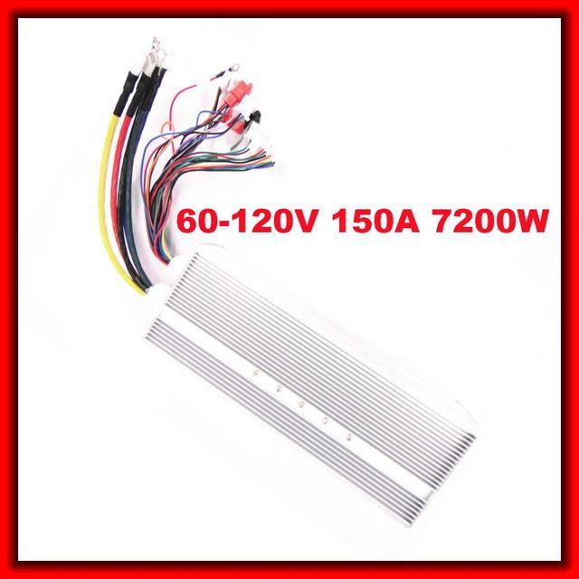 60V 120V 150A 7200W Big 24 mosfet BLDC Universal Brushless DC Motor ...