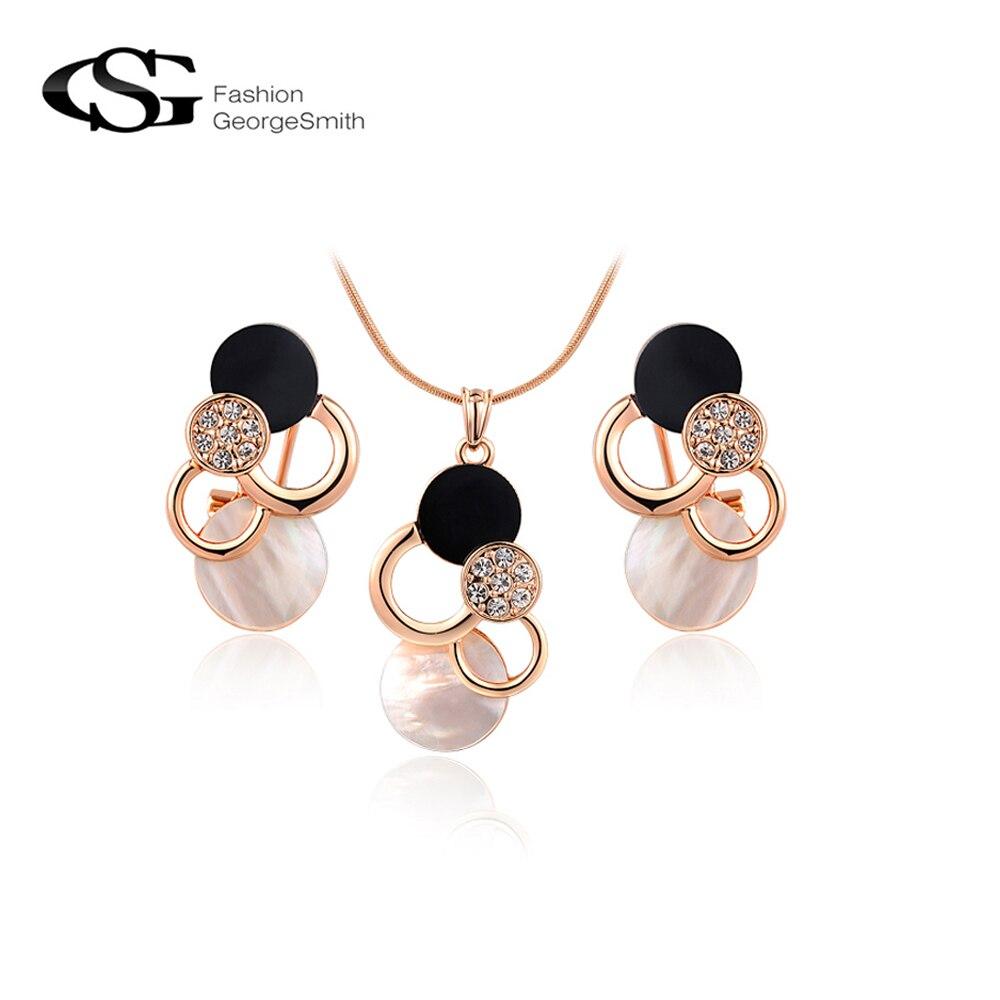 2017 GS Long Necklace Stud...