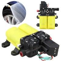 Mini Electric Water Pump DC 12V 80W Auto High Pressure Diaphragm Water Pump For Boat Caravan Marine Motor Pump Mayitr