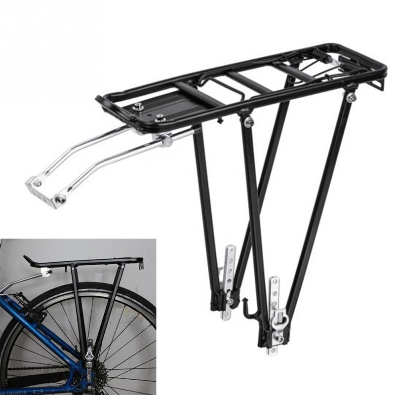 Bike Carrier Rack >> 2019 Aluminum Alloy Bicycle Rear Cargo Rear Rack Shelf Cycle Accessories Mountain Bike Carrier Seat Pannier Rack 28 33 12 7 915 262582 From