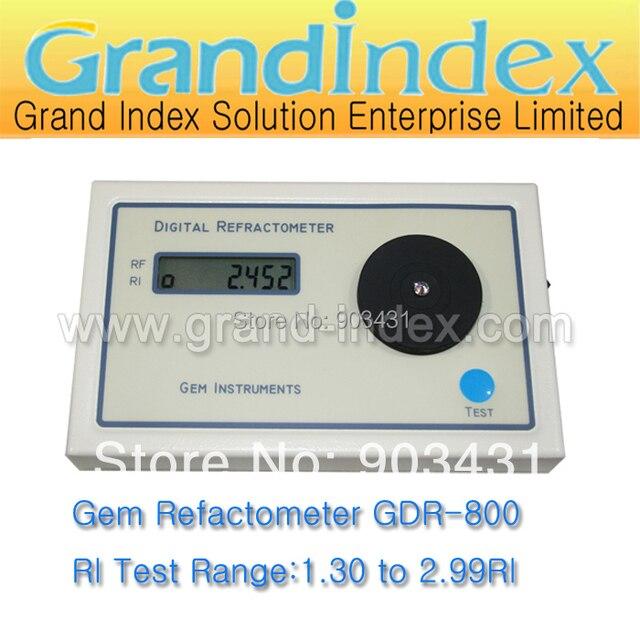 US $298 99  Digital Gem Refractometer with wide measuring range,nice gem  stones tester (GDR800)-in Refractometers from Tools on Aliexpress com  