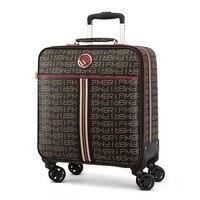 2021 neue 16 20 24 größe vintage Roll Koffer Frauen Carry-Ons Reisetaschen auf Rädern Männer marke Trolley gepäck boarding-box