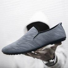 Mens Casual Shoes Hot Sale Loafer Breathable Slip-On Men Flat Espadrilles Footwear Zapatos De Hombre