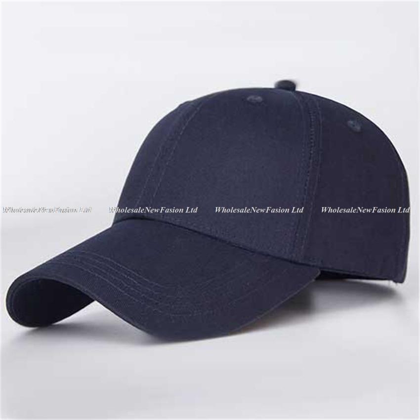 8e5b2d3f 10pcs Quality Blank Brown Cotton Baseball Hat NEW Womens White Base Ball  Caps Men Adjustable Plain Blue Ball Cap Buy Bulk Hats