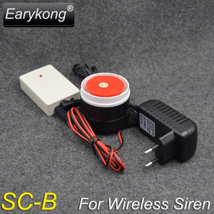 Image 2 - Wireless Flash Strobe Siren For GSM Alarm System 433MHz, Also it is a spot alarm system, can add 100  wireless detectors,