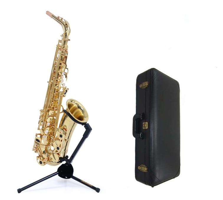 где купить  High quality Japanese new W01 A901 Yanagisawa E-flat Alto Saxophone YANAGISAWA + large bell Professional  дешево