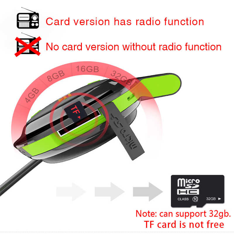 Plufy Bluetooth di Sport Della Cuffia Auricolare Senza Fili Radio MP3 Audifonos Sweatproof Cuffie Auricolare Inalambrico Écouteur Auricolari