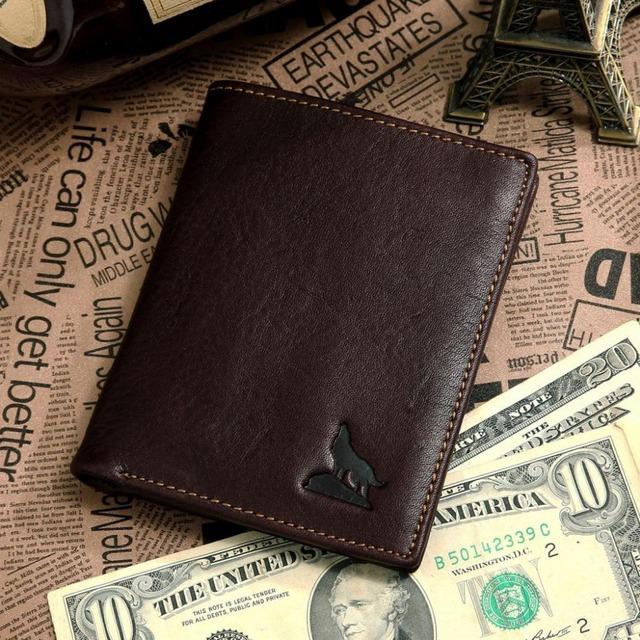 Jm DGenuine cartera de cuero con tarjeta extraíble Holder # 8015-2C