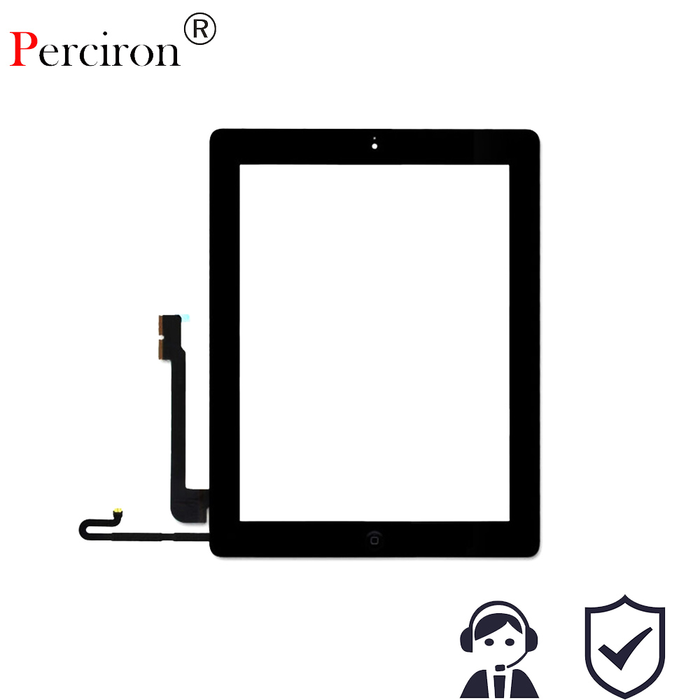 New 9.7'' inch For Ipad3 4 touch screen glass digitizer front Glass Digitizer panel +homebutton+adhesive tape for Black White white replacement for apple ipad 3 ipad 4 touch screen digitizer front glass with free tools free shipping