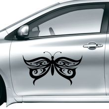 2016 fashion Free Shipping Butterfly Car Sticker Waterproof Reflective Decal vinyl custom made home DIY car decoration