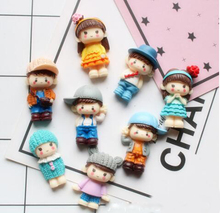 Neighborhood child Resin Accessories Mobile Phone Shell DIY Material Refrigerator Stickers Home Decoration