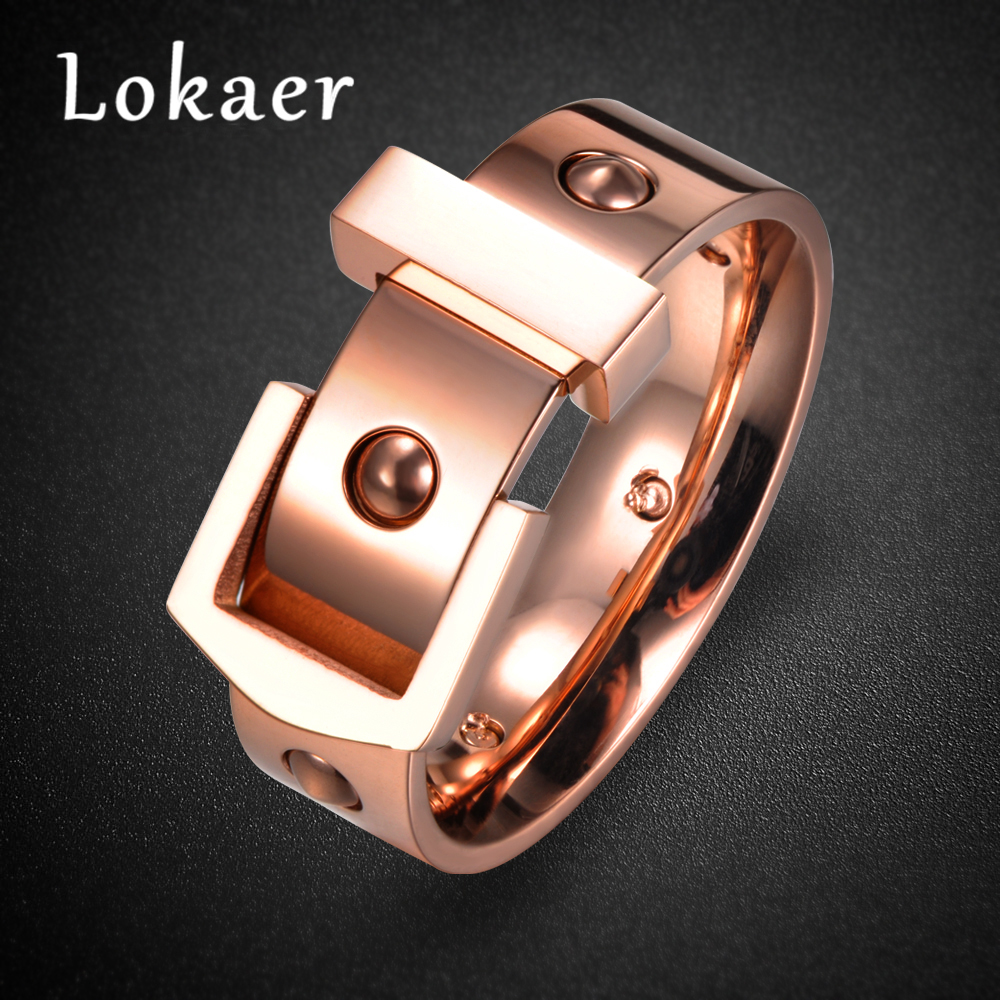 Lokaer New Fashion Belt Buckle Design Stainless Steel
