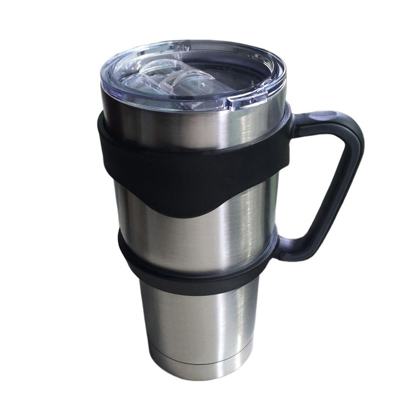 <font><b>New</b></font> Antislip Cup <font><b>Handle</b></font> <font><b>for</b></font> 30 Oz <font><b>YETI</b></font> <font><b>Rambler</b></font> <font><b>Tumbler</b></font> Rtic Sic Cup Travel Drinkware