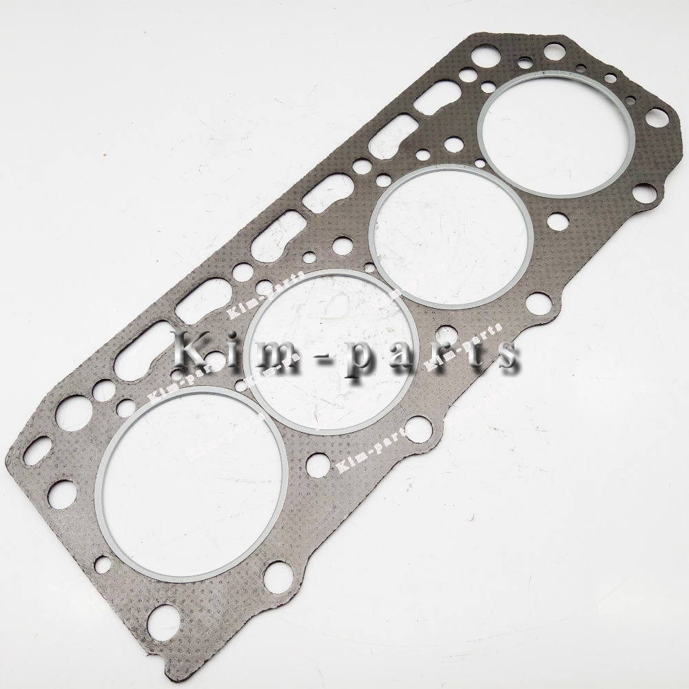Cylinder Head Gasket 2 Per Engine 07v103147: Set For Yanmar 4D84 2 4TNE84 2 Engine Cylinder Head Gasket