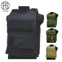 Men Outdoor Hunting Vest Tactical Army Equipment Military Molle Carrier Combat Vest Airsoft Gear War Game Paintball Vests