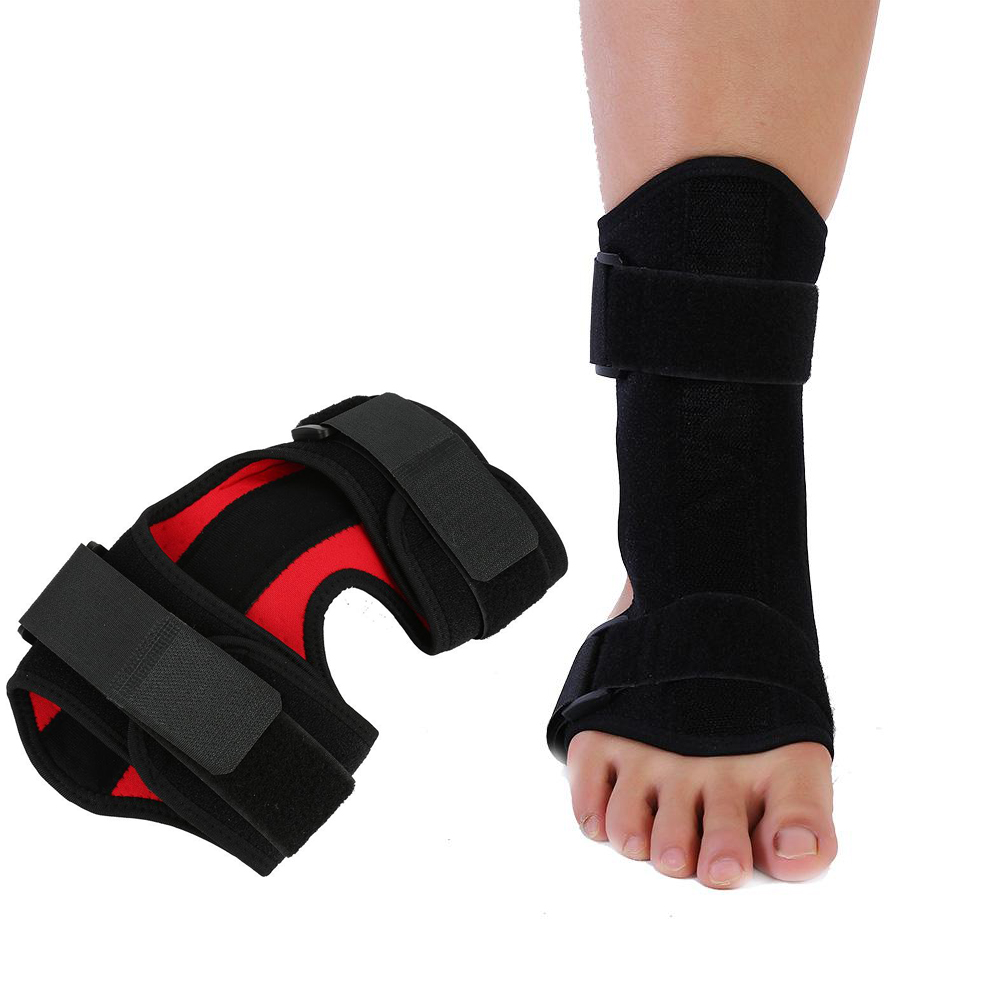все цены на Medical Plantar Fasciitis Night Splint Orthosis Joint Fracture Support Ankle Brace Strap Stroke Hemiplegia Rehabilitation Braces