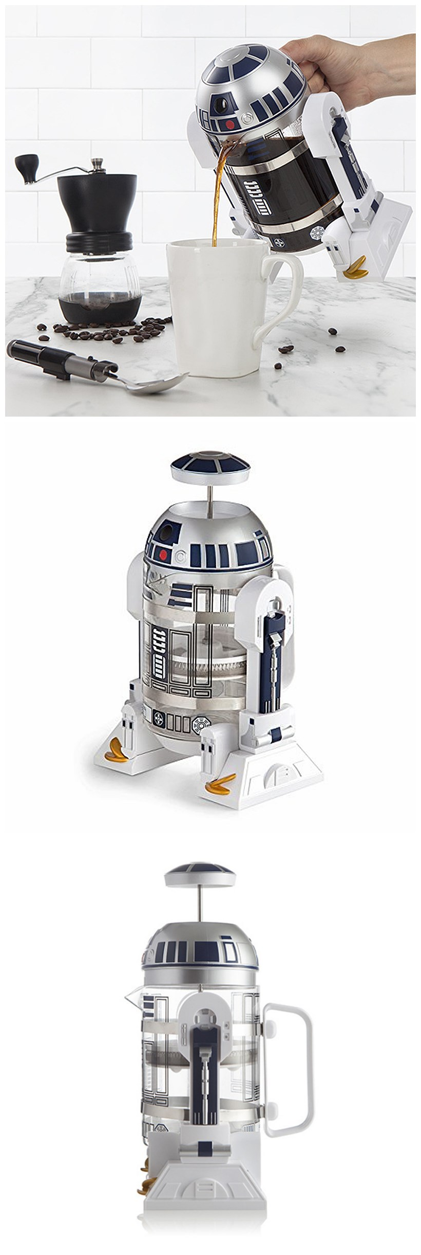 Star Wars R2-D2 Coffee Press (1)