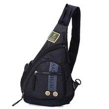 High Quality Nylon Men Sling Rucksack Daypack Single Shoulder Bag Military Knapsack Travel Multi-function Chest Backpack