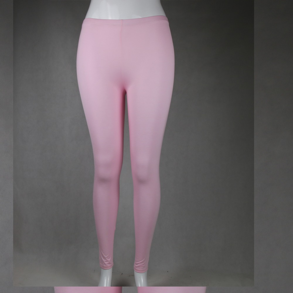 Shikoroleva Femenino Leggings 2020 Sheer Solid Color Leggins <font><b>Women</b></font> <font><b>Plus</b></font> <font><b>Size</b></font> <font><b>7XL</b></font> 6XL 5XL 4XL 3XL XXL Xl L M XS Pink Purple Black image