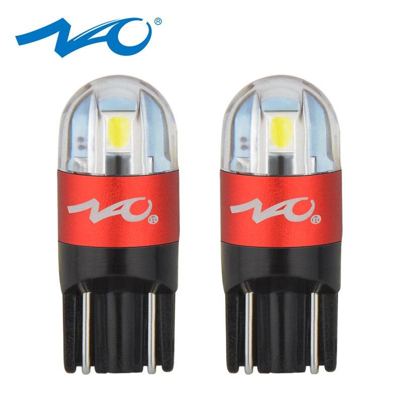 NAO Car-Bulb Signal-Lamp Clearance-Lights Interior Automobiles W5w Led 3030 Cob 12V 168