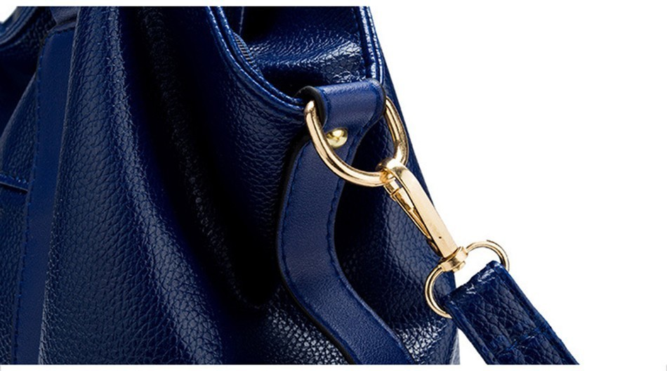 Hazy beauty Women Handbag Female PU Leather Bags Handbags Ladies Portable Shoulder Bag Office Ladies Hobos Bag Totes 85