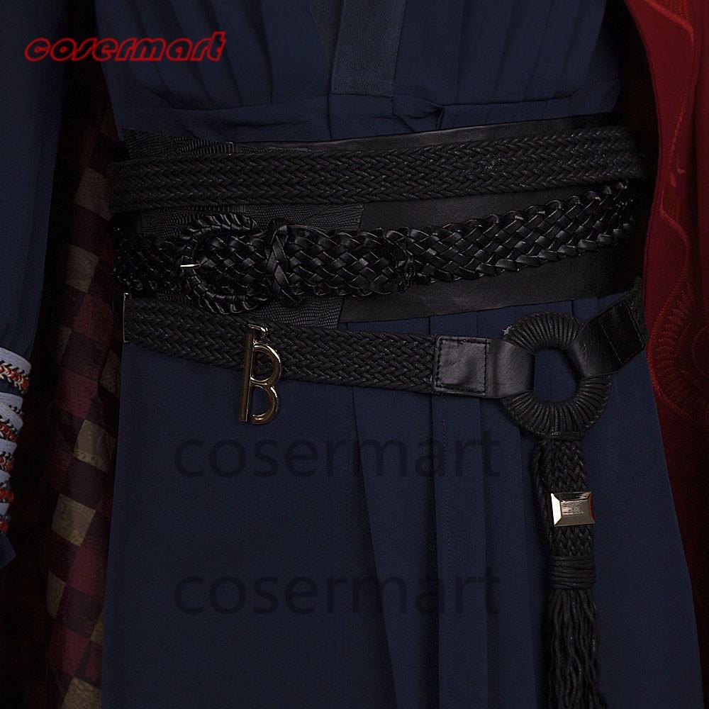 2016 Marvel Movie Doctor Strange Costume Cosplay Steve Full Set Costume Robe Halloween Costume (6)_