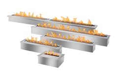 on sale 48 inch fireplace outdoor stainless steel bio  ethanol burner