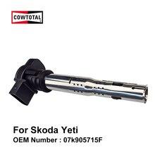 Cowtoum Катушка зажигания для Skoda Yeti Код двигателя CDA 1,8 T OEM 07k905715F(упаковка из 4