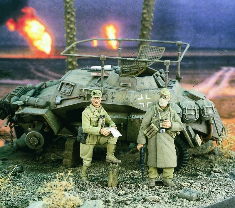 1:35 German African Army Scout
