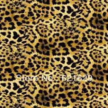Leopard texture 8'x8′ CP Computer-painted Scenic Photography Background Photo Studio Backdrop ZJZ-269