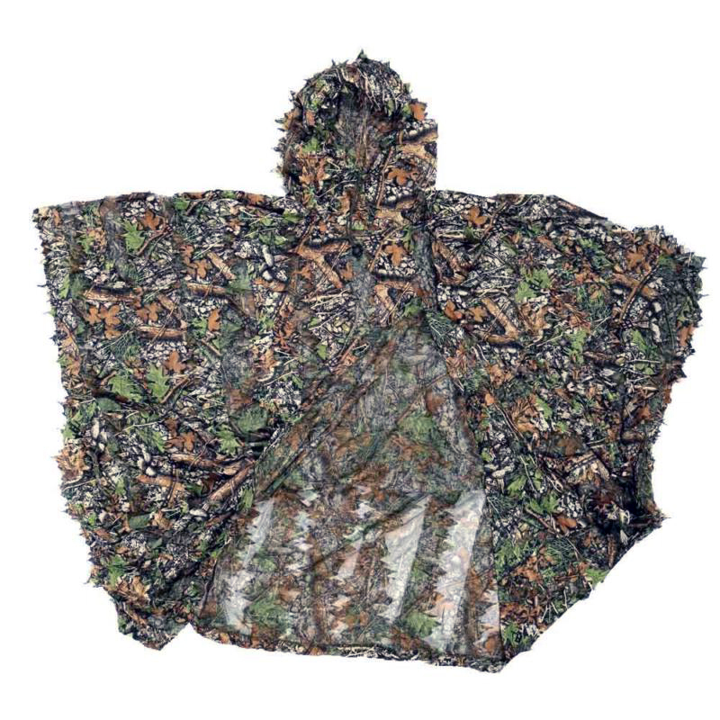 Hunting Camouflage Woodland Forest Sniper Ghillie Suit Kit 3D Camouflage Camo Jungle hunting woodland camouflage sniper ghillie suit set