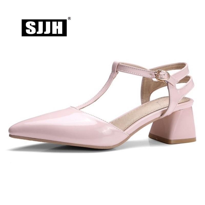 Pelle Comfort Footwear scarpe Patent Heels Fashion Chunky  Size  Chunky  5dc94f