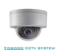 DS 2DE3304W DE 3MP Instock 3 Mini PTZ IP Camera 2 8mm 12mm 4X Zoom Support