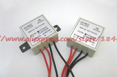 Free Shipping     Input Voltage AC100-110V, Output Voltage DC90~99V, Rectifier Unit Brake Rectifier Module