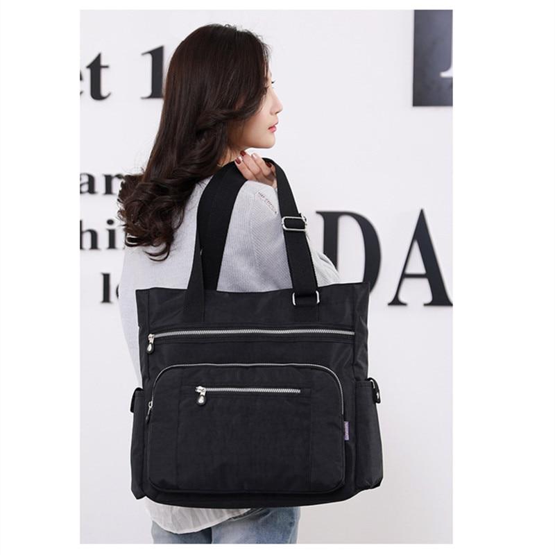Canvas Handbag Fashion Women's Shoulder Bag Leisure Messenger Bag Light Crossbody Bags For Girls Ladies Bucket Bag High Quality