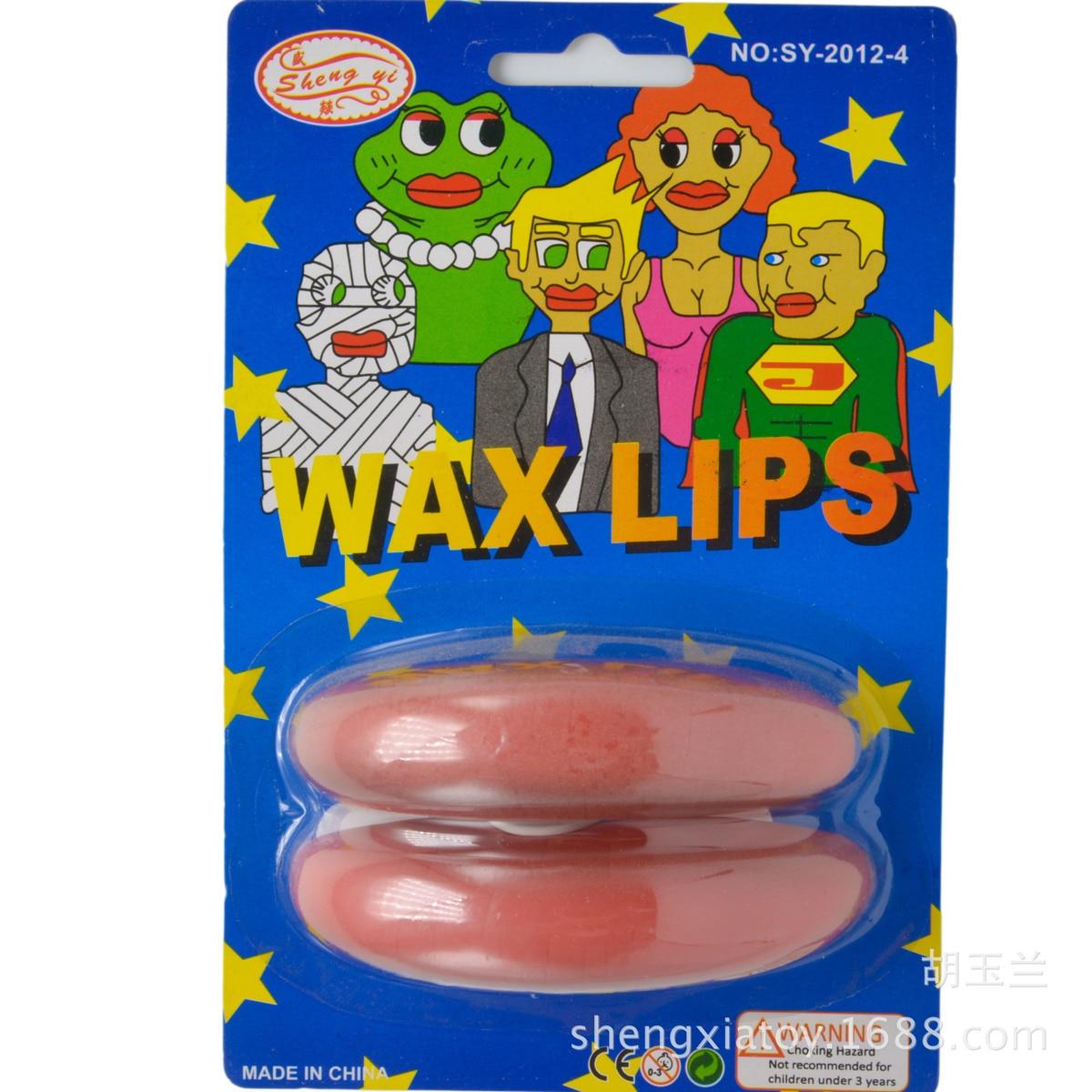 В Свадебная вечеринка Опора Толщина губы рыло Sausage Преувеличение будет рот Хитрый игрушки Резиновая