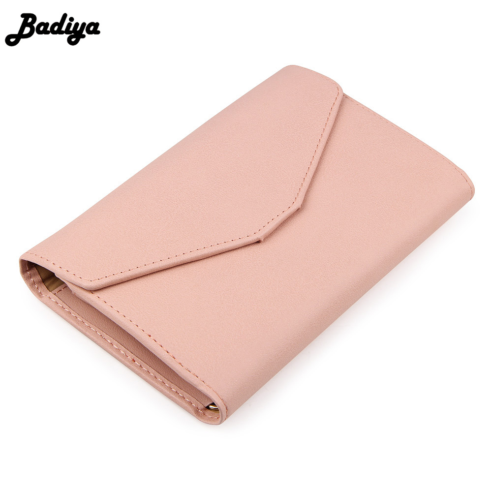 New Fashion Envelope Wallet Purse PU Leather Designs