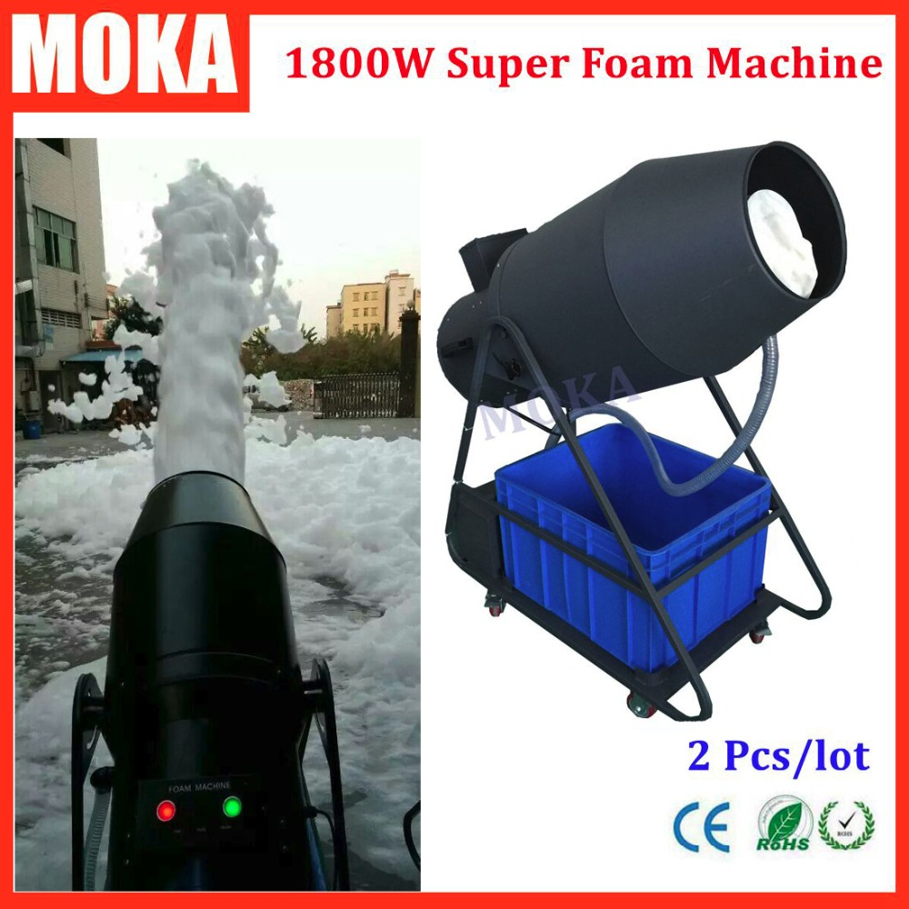 2 Pcs/lot 1800W foam machine party high power bubble blower machine power control Stage Effect Equipment Outdoor Events антенна texas 1800 power где
