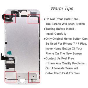 Image 5 - Voll teile Für iPhone 7 7G 7 plus LCD bildschirm, mit front kamera hörer lautsprecher zurück platte Display Touch Screen Ersatz