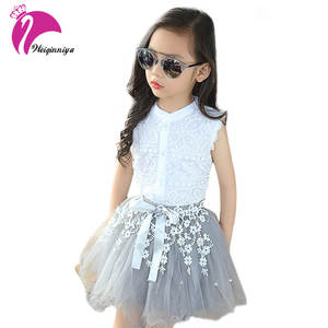 Baby Girls Clothing Sets Summer 2 Pcs Suit Children Clothes