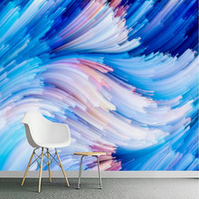 Custom 3D Photo Wallpaper Personality Geometric Lines Wallpapers Wall Mural Abstract Wallpapers Home Decor Wall Papers(China)